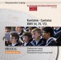 Kantaten Kirchenjahr: Pfingsten BWV 34,74,172 Nr.7/10
