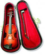 Miniatur Violine im Geigenkastenasten