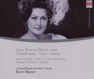 Anna Tomowa-Sintow singt Tschaikowsky, Verdi, Strauss