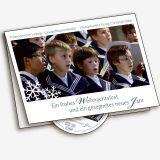 Weihnachtskarte mit CD
