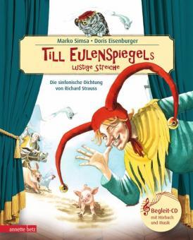 Till Eulenspiegels Lustige Streiche - Buch & CD