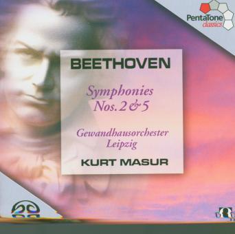 Sinfonie 2 d-dur op.36 & Nr.5 c-moll op.67