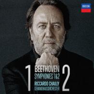 """Sinf.1 op.21 &.2 op.72a,  """"Prometheus"""",""""Leonore"""" op.72a"""