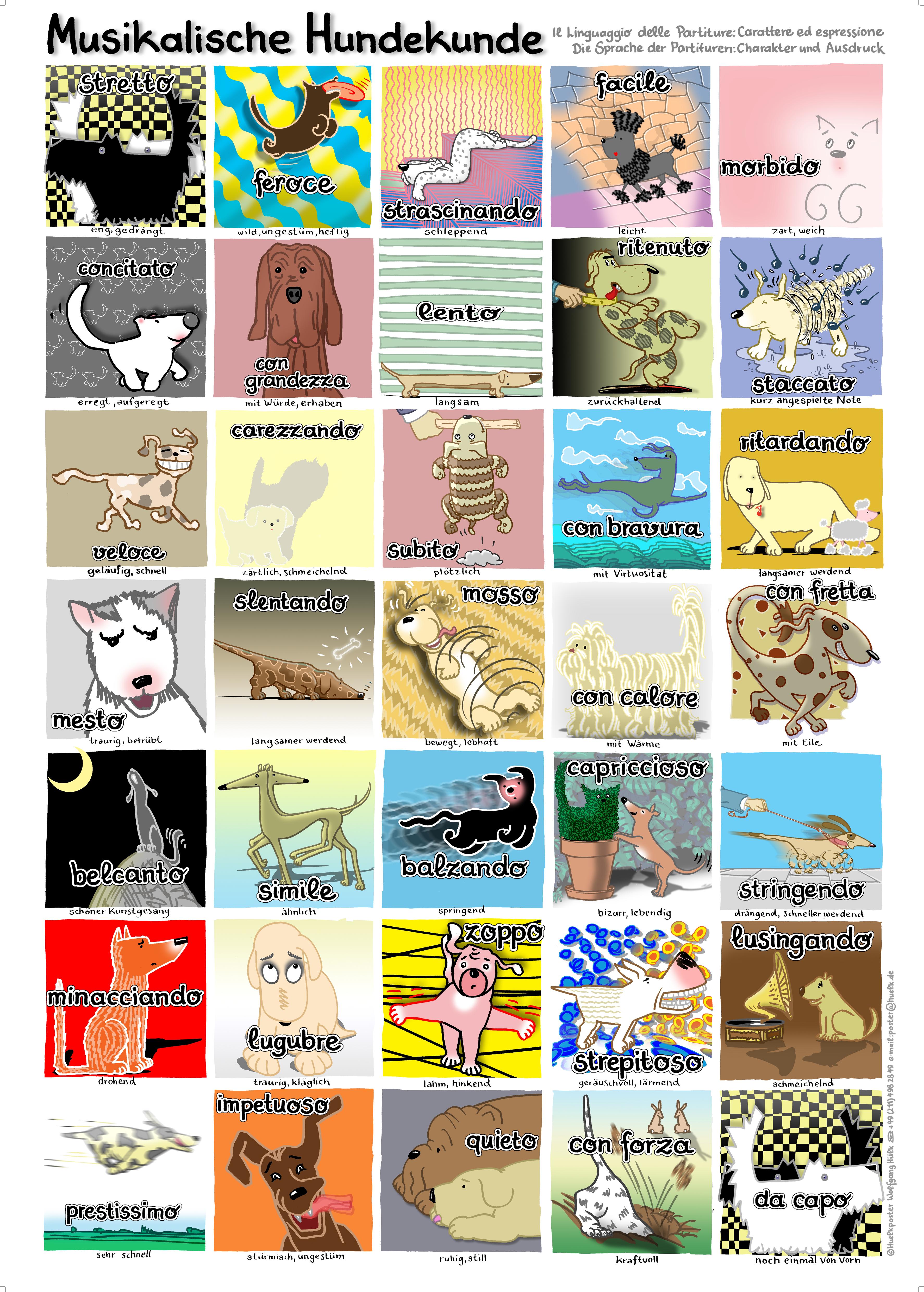 Hunde-Poster