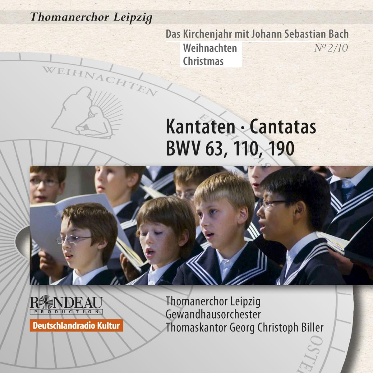 Kantaten zum Kirchenjahr: Weihn. BWV 63,110,190 Nr.2/10