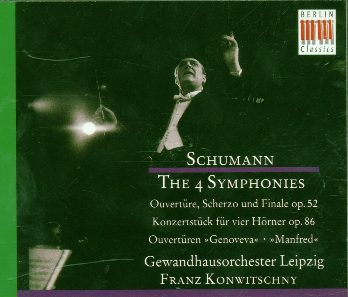 """Sinfonien 1-4; Ouvertüren """"Genoveva"""" & """"Manfred"""""""