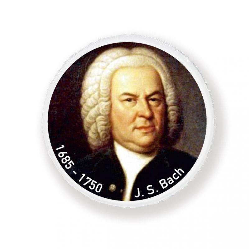 Bach-Button 1685 - 1750 Magnet