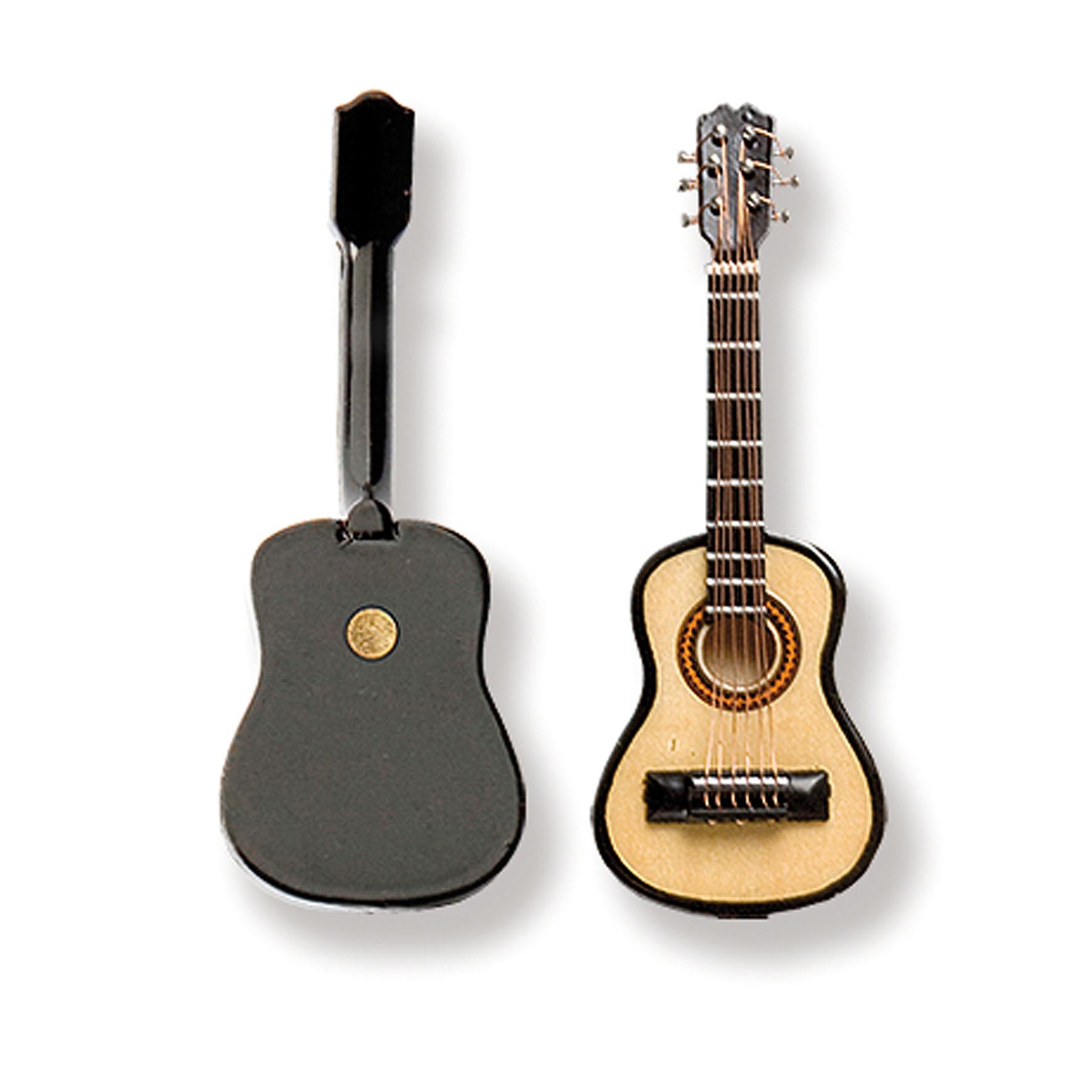 Miniatur-Gitarre mit Magnet