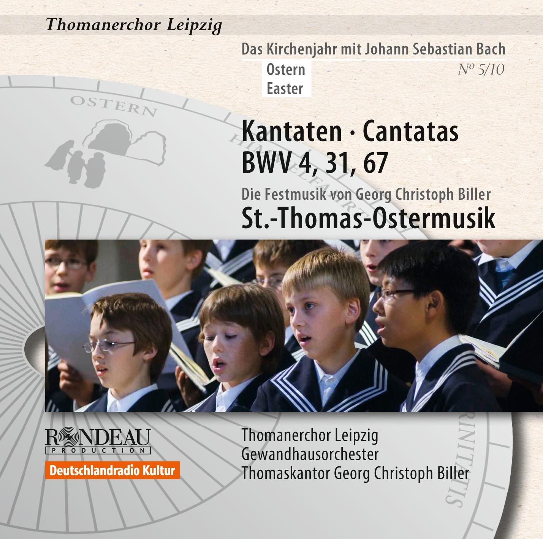 Kantaten zum Kirchenjahr - Ostern - BWV 4, 31, 67 5/10
