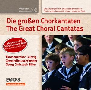 Die großen Chorkantaten - 11 CD - Box