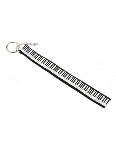 Schlüsselanhänger Klavier-Tastatur