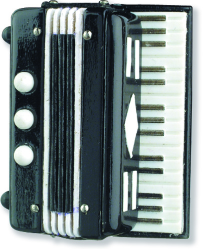 Akkordeon Miniatur Magnet